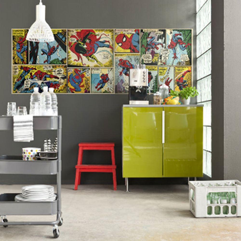 Decoration chambre marvel visuel 6 - Deco chambre avengers ...