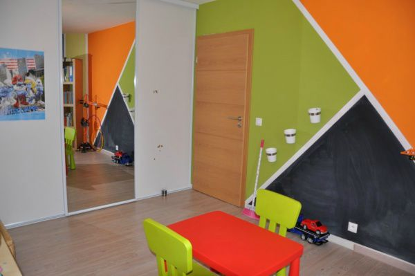 Emejing Chambre Orange Et Vert Contemporary - House Design ...