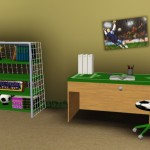 decoration de chambre football