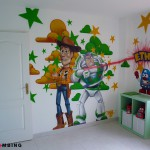 decoration de chambre toy story