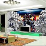 decoration de chambre transformers