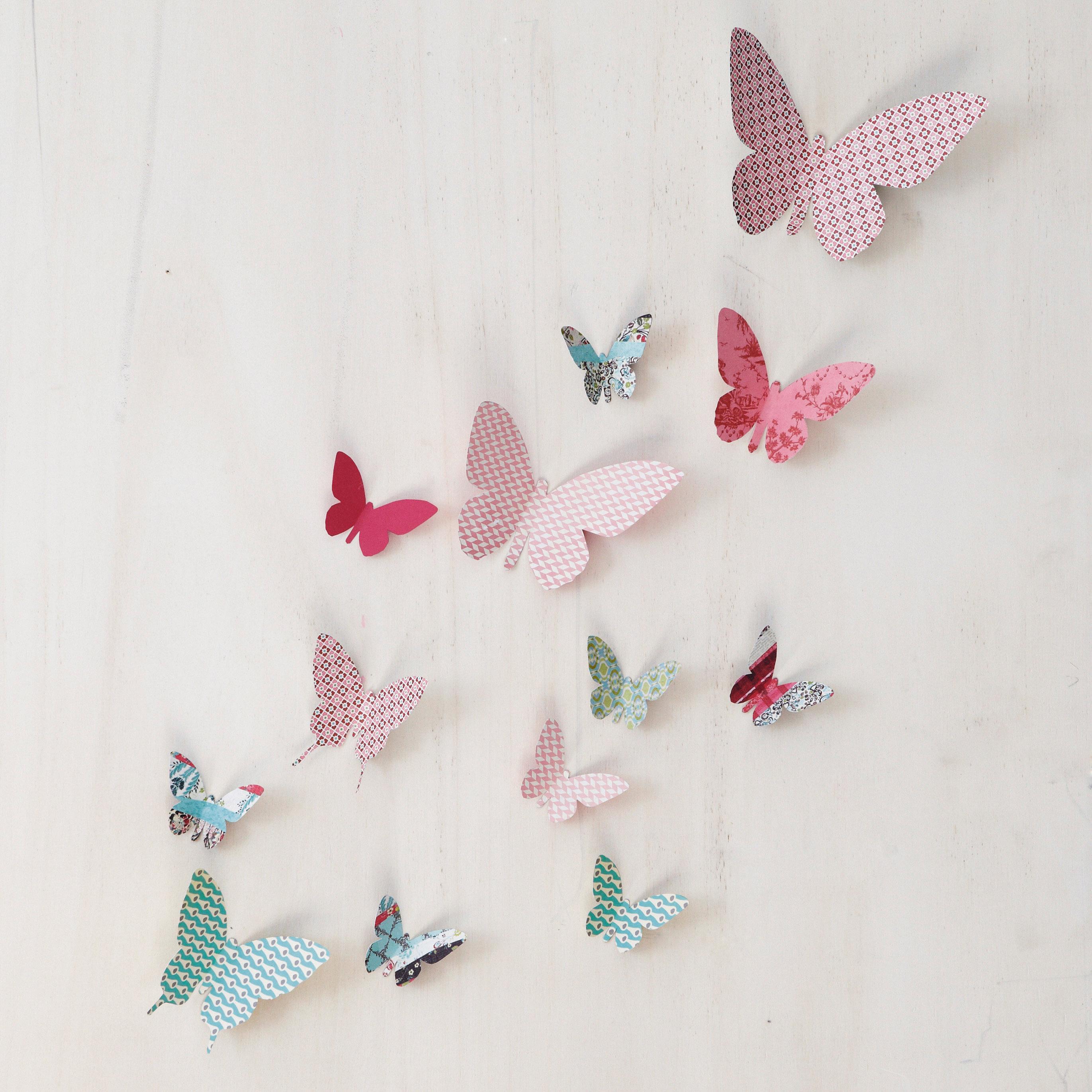 Faire decoration papillon for Papillon decoration