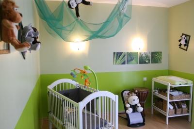 Idée chambre bébé jungle - Idées de tricot gratuit