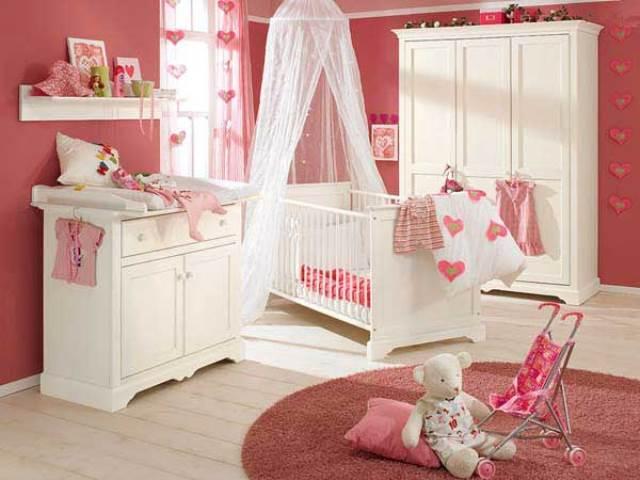 idee de decoration pour chambre de bebe fille - visuel #6