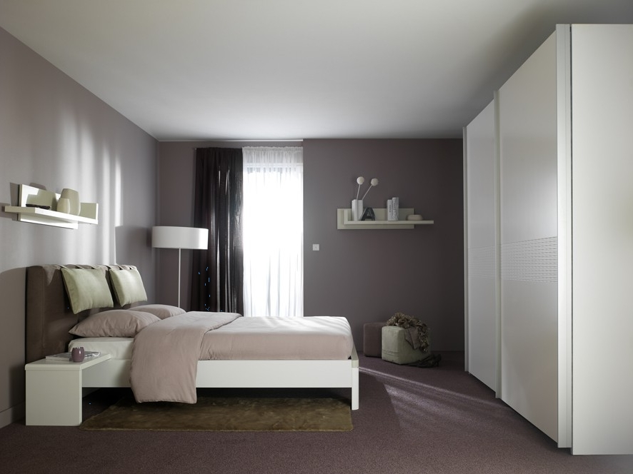 Idees de deco pour chambre d adulte visuel 2 for Chambre contemporaine adulte