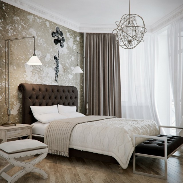 luminaire pour chambre a coucher visuel 6. Black Bedroom Furniture Sets. Home Design Ideas