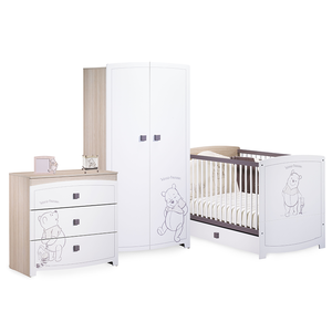 photo chambre bebe winnie l ourson visuel 7. Black Bedroom Furniture Sets. Home Design Ideas