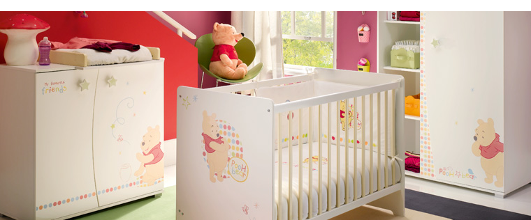 Deco Chambre Led :  Chambre Bébé Winnie L Ourson  Photo chambre bebe winnie l ourson