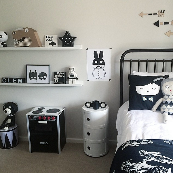 tableau pour chambre noire et blanche - visuel #3