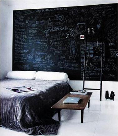 tableau pour chambre noire et blanche visuel 1. Black Bedroom Furniture Sets. Home Design Ideas