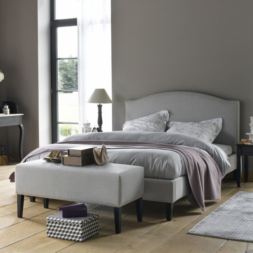 bout de lit blanc la redoute visuel 1. Black Bedroom Furniture Sets. Home Design Ideas