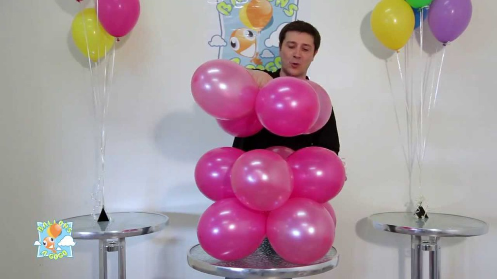 comment faire decoration avec ballons visuel 4. Black Bedroom Furniture Sets. Home Design Ideas