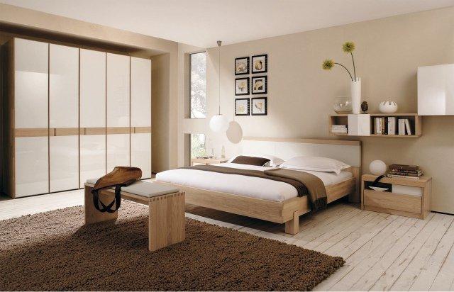 Deco chambre a coucher beige visuel 4 for Chambre a coucher deco
