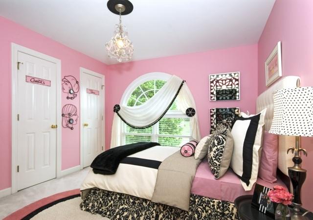 Deco chambre ado rose visuel 3 for Chambre 8m2 deco