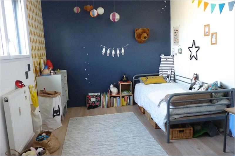 bleu chambre garcon deco chambre bebe bobo visuel - Chambre Garcon Bleue