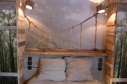 Elegant Deco Chambre En Bois Flotte \u2013 Visuel 2.