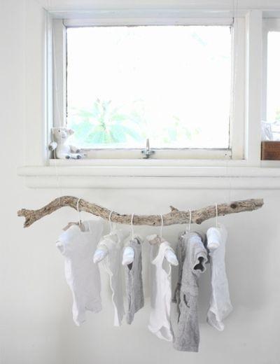 deco chambre en bois flotte - visuel #9