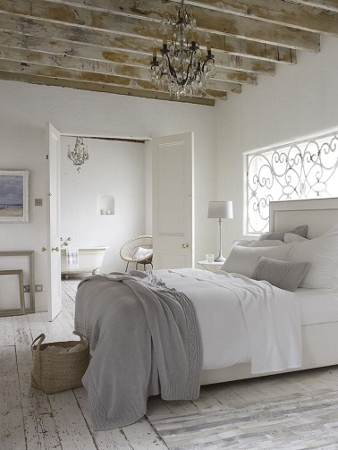Deco chambre epuree visuel 8 for Idee decoration chambre parentale
