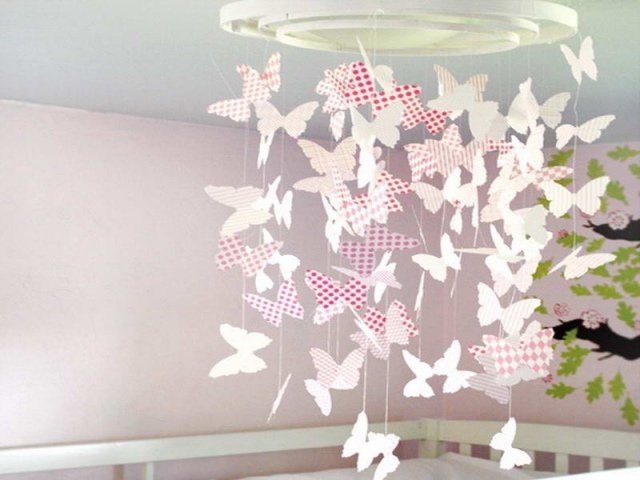 Decoration Chambre Fille Papillon