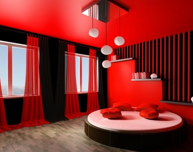 Deco Chambre A Coucher Rouge Et Noir -|- vinny.oleo-vegetal.info