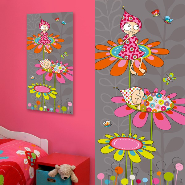Decoration chambre fille nature - Decoration chambre de fille ...