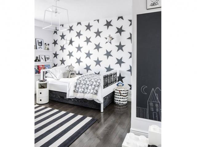 Deco Chambre Garcon Noir Et Blanc Visuel 6 - Chambre Rouge Et Blanc ...