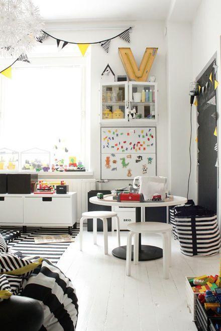 Maison Moderne Biarritz : Deco Chambre Garcon Noir Et Blanc