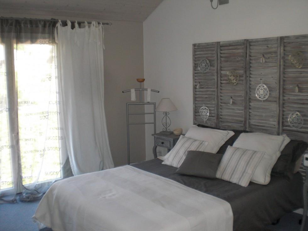 deco chambre gris blanc - visuel #8