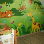 deco chambre jungle ou savane