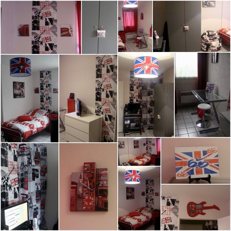 D co chambre new york et london - Idee deco chambre new york ...