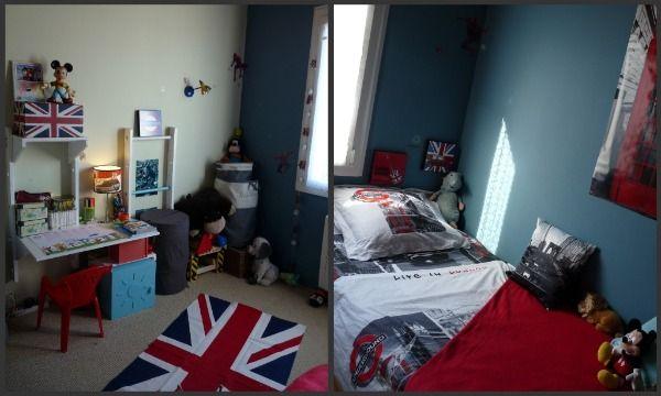 d co chambre new york et london. Black Bedroom Furniture Sets. Home Design Ideas
