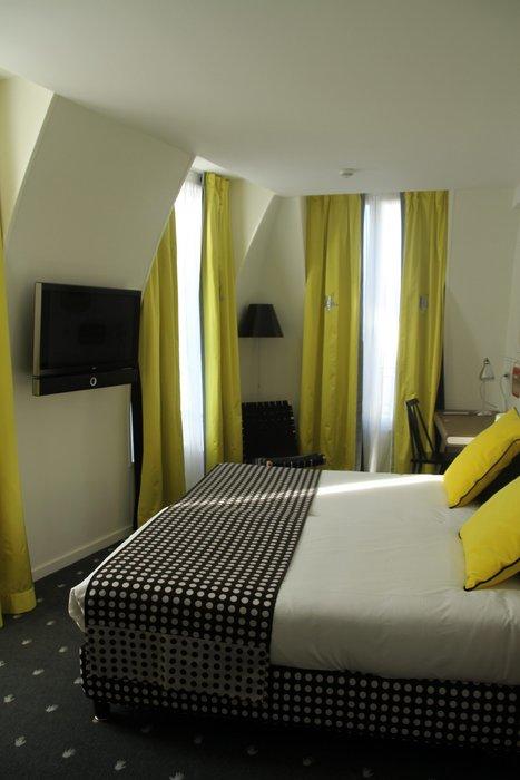 deco chambre noir et jaune - visuel #4