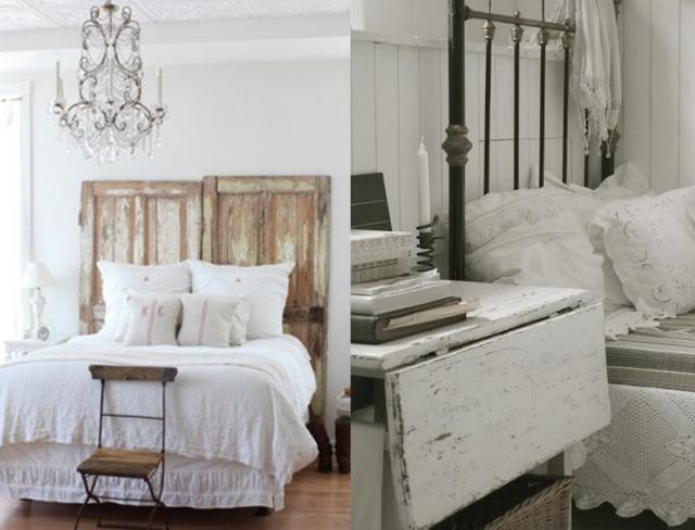 Chambre blanc campagne ~ Design de maison