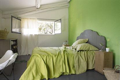 Deco de chambre vert anis visuel 9 for Deco chambre vert anis