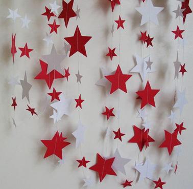 Decoration de noel a faire soi meme en papier - Comment faire des decoration de noel en papier ...