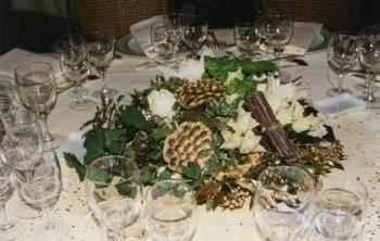 Deco floral noel faire soi meme visuel 9 - Centre de table a faire soi meme pour noel ...