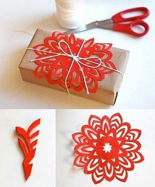Deco noel a fabriquer en papier visuel 5 - Deco noel papier ...