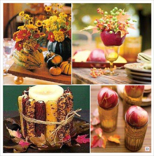 Decoration De Mariage Automne : Decoration automne a fabriquer visuel