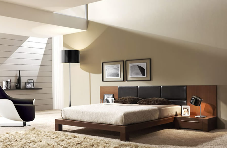 Deco chambre contemporaine id e inspirante for Chambre a coucher adulte contemporaine