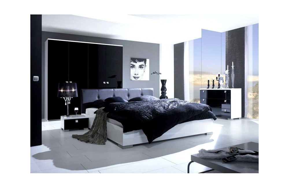 decoration chambre a coucher contemporaine visuel 6. Black Bedroom Furniture Sets. Home Design Ideas