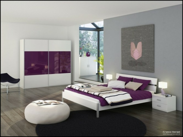 Best Chambre A Coucher Blanche 2016 Contemporary - House ...
