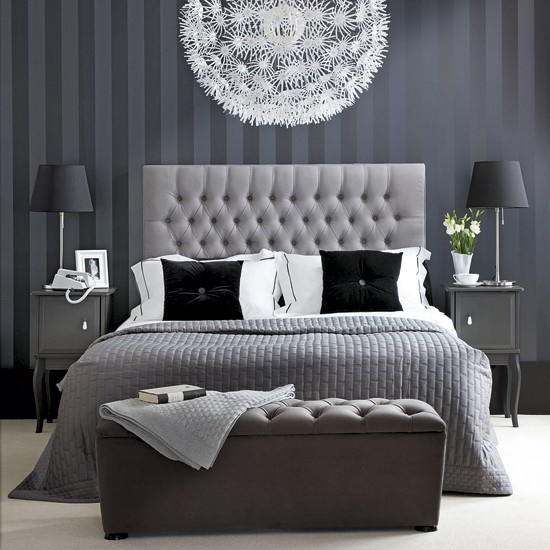 Emejing Gris Chambre A Coucher Contemporary  Design Trends