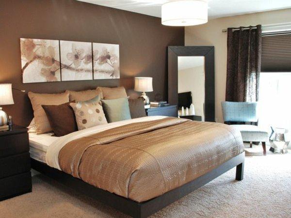 Decoration Chambre A Coucher Marron Visuel 4