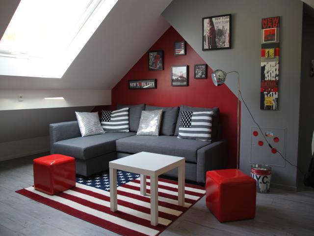 decoration chambre ado mansardee - visuel #6