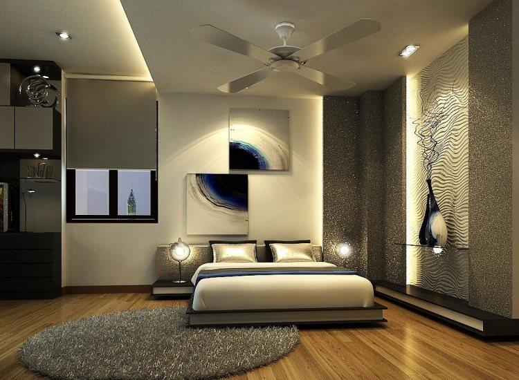 decoration chambre adulte moderne - visuel #6