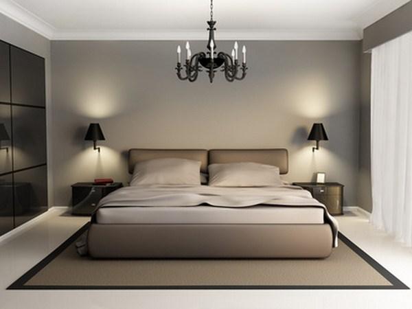decoration chambre adulte moderne - visuel #1