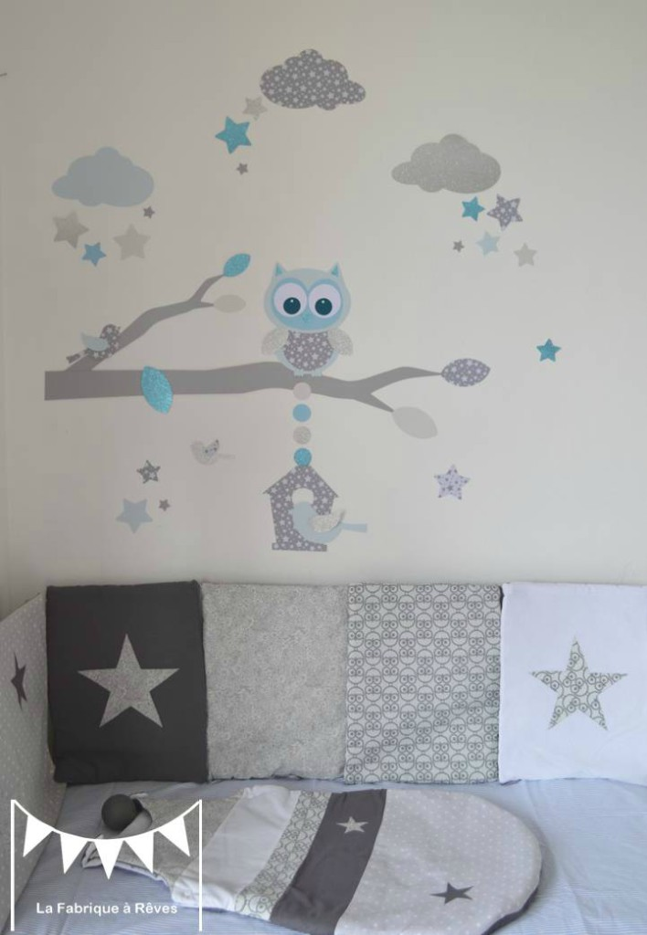Decoration chambre bebe garcon stickers visuel 2 for Stickers deco chambre garcon