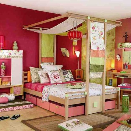 Decoration chambre bebe japonaise for Chambre style asiatique