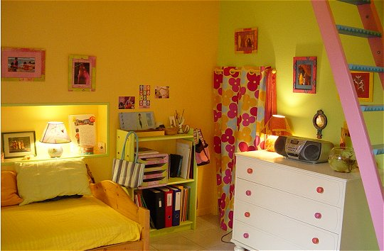 Awesome Chambre Orange Et Vert Photos - Matkin.info - matkin.info