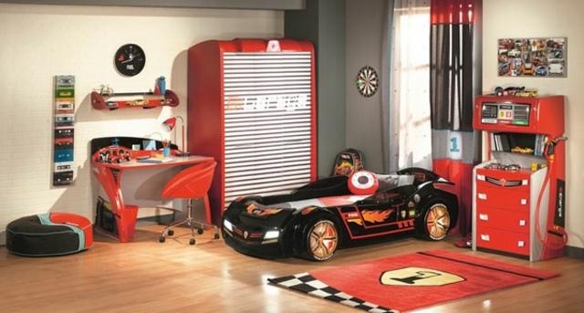 decoration chambre garcon voiture - visuel #8